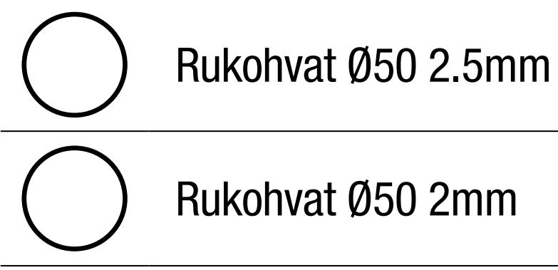 Aluminijumski Rukohvati